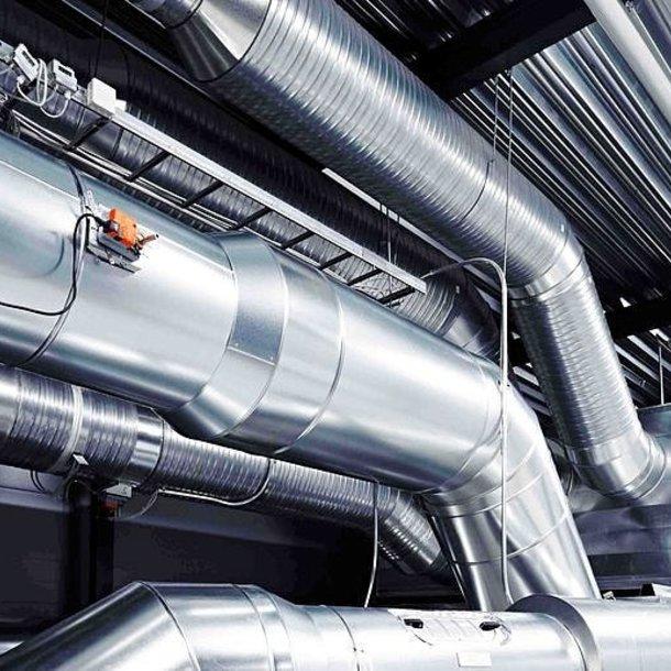 монтаж промышленных систем вентиляции и кондиционирования